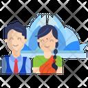 Guajarati Couple Icon