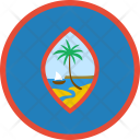 Guam Flag Country Icon