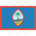 Guam Flag World Icon