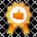 Guarantee Tag Winning Icon
