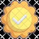 Guarantee Certificate Emblem Icon