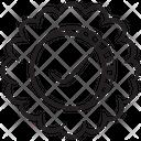 Guarantee Badge Authorized Badge Guarantee Label Icon