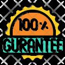 Guarantee Certify Label Icon