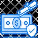 Guarantee Insurance Financial Insurance Money Insurance Icon