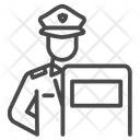 Sheild Guard Justice Icon