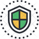 Guard Protecting Symbol Icon