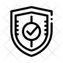 Shield Guard Protection Icon