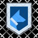 Guard Dog Shield Icon