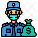 Guard Money Man Icon