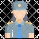 Guard Woman Woman Police Female Guard Icon