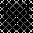 Guardrail Delimiter Security Rope Icon