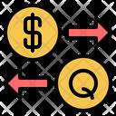 Usa Guatemala Currency Icon