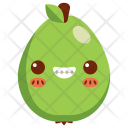 Guava Fruit Face Icon