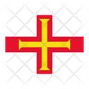 Guernsey Flag Flags Icon