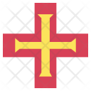 Guernsey Flag Icon
