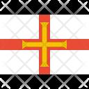 Guernsey Flag World Icon