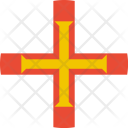 Guernsey Flag World Icon