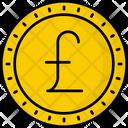 Guernsey Pound Coin Money Icon