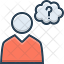 Guess Worry Concern Icon