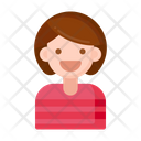 Child Guest Tourist Girl Girl Icon