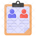 Invitation List Guest List Guest Document Icon