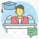 Guest Speaker Icon