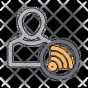 User Profile Wifi Icon