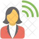 Wifi User Network Icon