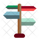 Guide Indication Guidepost Icon