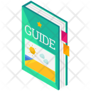 Guide Book Isometric Icon