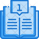 Guide Book Education Information Icon