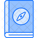 Guide Book Travel Book Instruction Book Icon