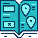 Travel Blue Book Icon
