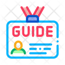 Guide Id Card Icon