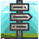 Guide post Icon