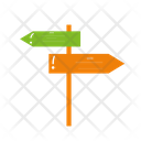 Guide Sign Road Guide Guidepost Icon