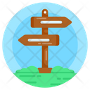 Direction Teller Signpost Guidepost Icon
