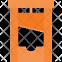 Guillotine Head Cut Icon