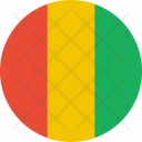 Guinea Flag Country Icon