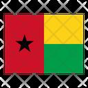 Guinea Bissau Flag Flags Icon