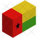 Flag Country Guinea Bissau Icon