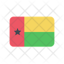 Guinea Bissau Flag Country Icon