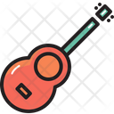 Camping Guitar Music Icon