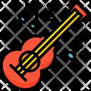 Guitar Music Brazil Icon