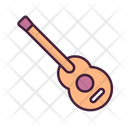 Guitar Rockstar Guitar Music Instrument Icon