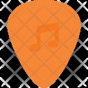 Guitar Pick Instrument Icon