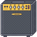 Guitar Amplifier Music Icon