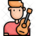 Guitar Player Musician Icon