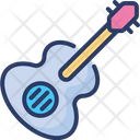 Guitar Strings Acoustic Icon