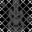 M Guitar Icon